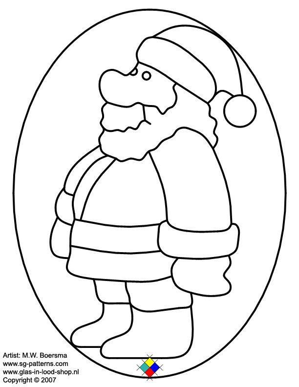 stained glass patterns for free glass pattern 053 christmas man glass pattern 053 christmas mang maxwellsz