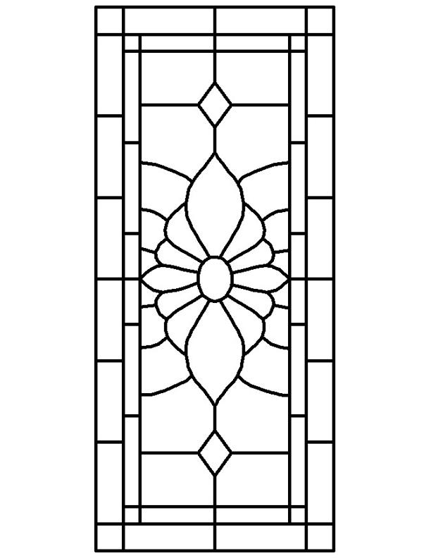 Stained Glass Window Patterns : Glass window victorian stained patterns