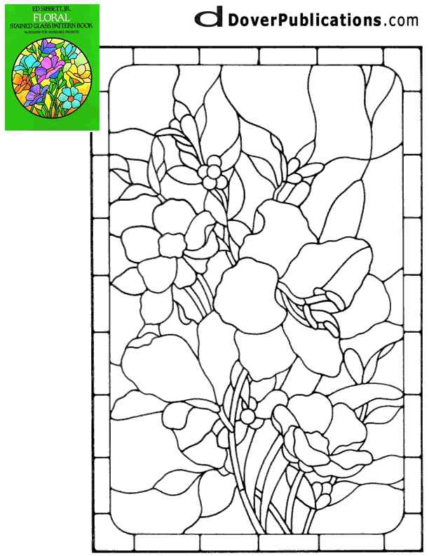 Stained Glass Patterns For FREE Pattern 116