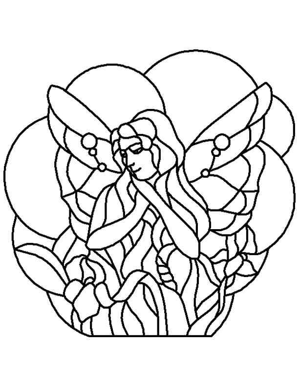 Stained Glass Patterns For FREE Pattern 173