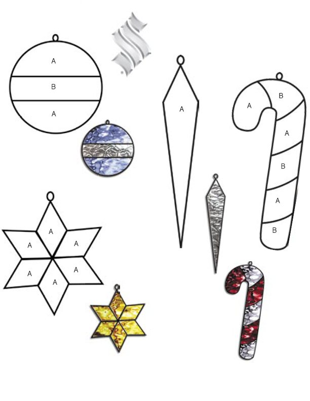 ... Stained Glass Patterns for FREE ★ glass pattern 179 Christmas